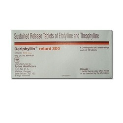 Deriphyllin Retard 300   Etofylline / etophylline   theophylline