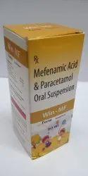 Mefenamic Acid & Paracetamol Oral Suspension