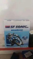 SF Sonic Bike Battery, Voltage: 12V, Model Name/Number: MK540-14L-A2