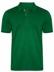 Men's Poly Cotton Collar Tshirt