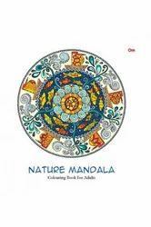 Nature Mandala Colouring Book for Adult