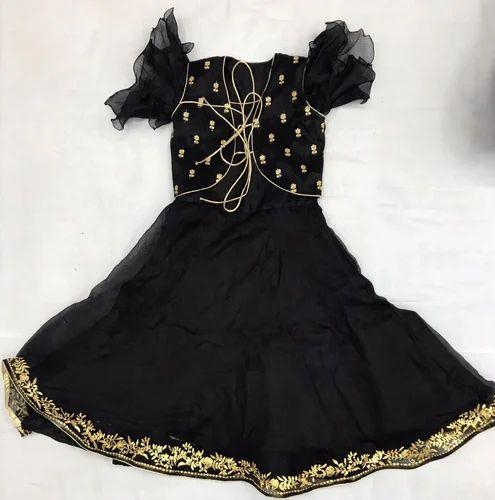 d50f5cc59a94 KOTA SILK RANI And BLACK BABY GIRL DRESSES, Rs 2800 /set | ID ...