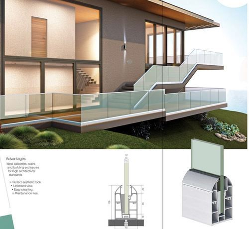 Railing System for Balcony & Staircase Complete Solution