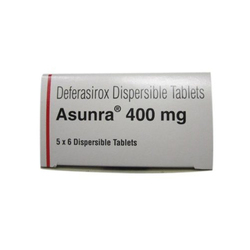 Asunra (Deferasirox) 400 mg