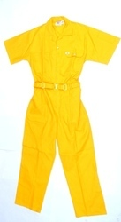 Industrial Dangri Uniform Yellow Color