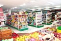 Retail Supermarket Display Rack