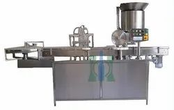 Vial Liquid Filling Stoppering Machine
