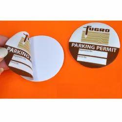 Printed Adhesive Sticker