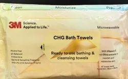 3M CHG Bath Towels