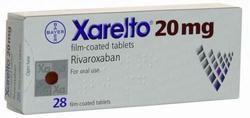 Xarelto Rivaroxaban  20mg Tablets
