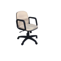 White Computer Chairs-ifc069