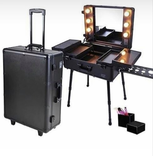 Led Makeup Vanity Trolley
