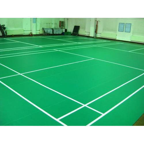 Indoor Badminton PVC Vinyl Flooring