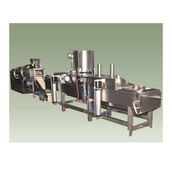 Automatic Continuous Sev Extruder Machine