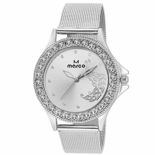 Ladies Silver Wrist Watch