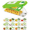 Ketsaal Vegetable Chopper Cutting Set