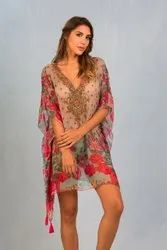 Sexy Short Kaftan Dress