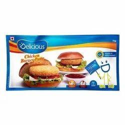 Delicious Chicken Burger Patty