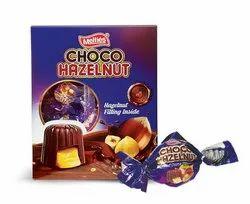 Round Hazelnut Chocolate, Quantity Per Pack: 12 Packs In 1 Box