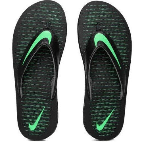 reputable site 5c292 21e6c Nike Thong 5 Green Slippers.