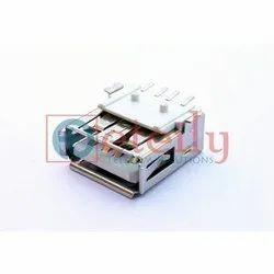 USB AF 4 Pin SMT Connector