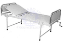 Manual Mild Steel Hospital Semi Fowler Bed Isolation Bed, Size/dimension: 72x36x20