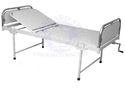 Standard Steel White Hospital Semi Fowler Bed