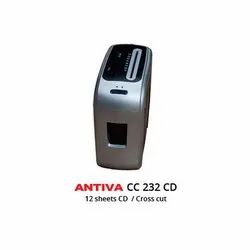 Paper Shredder Machine- Antiva 232CD