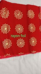 Rayon Foil Fabric