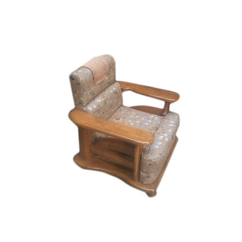 Single Seater Wooden Sofa Chair