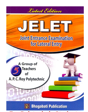 Joint Entrance Examination For Lateral Entry Book