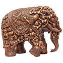Decorative Resin And Marble Dust Elephant Statue