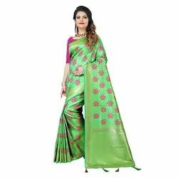 1545 Jacquard Silk Saree