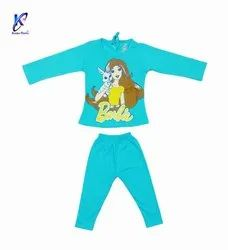 Baby Girl Full Sleeves T-Shirt With Pant