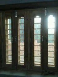 Sagwan Brawn Window, Size/Dimension: 3x3