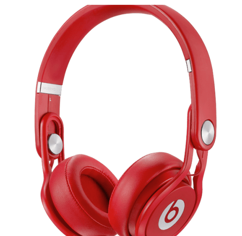Beats Mixr On Ear Headphone By DrDre Red