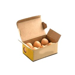 Die-Cut Paper Egg Packaging Box and egg trays