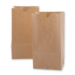 Plain Brown Paper Bag, Capacity: 2.5-5 Kg