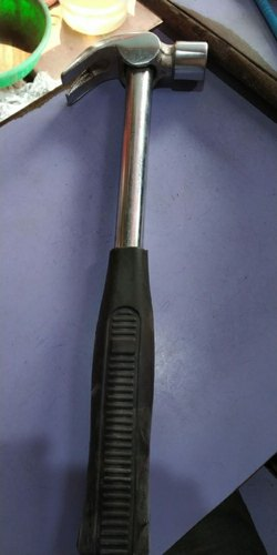 Steel Handle Bright claw hammer