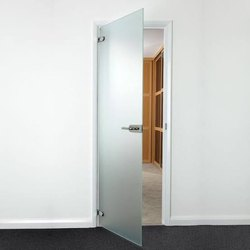 Ozone Plain Glass Doors, Thickness: 10mm