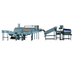 FRY-TECH Stainless Steel Semi Automatic Potato Chips Line, 12 Hp, Capacity: 100, 200 & 500 Kg/Hr