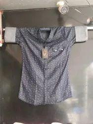 Cotton Full Sleeve Mens Modern Designer Printed Shirt
