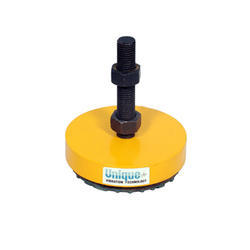 Unick Yellow And Black Rubber Mounting Pads