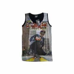 98c4dbf4 Cotton Round Mens Sleeveless T Shirt, Size: Medium, Rs 105 /piece ...