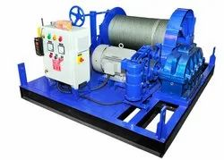 15 Ton Electric Wire Rope Winch Machine