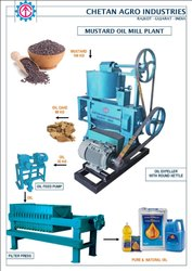 Semi-Automatic Mustard Oil Mill Machinery