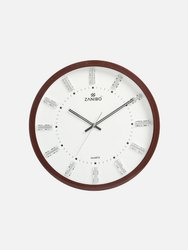 Zanibo Analog 2065 Wall Clock, For Home and Offices, Size: 370x370 Mm