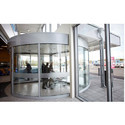 Revolving Glass Door