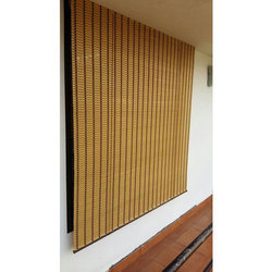 Brown Bamboo Curtain Window Blind