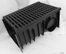 LIDCO Regular LARGE DRAIN CHANNEL, Material Grade: Hdpe